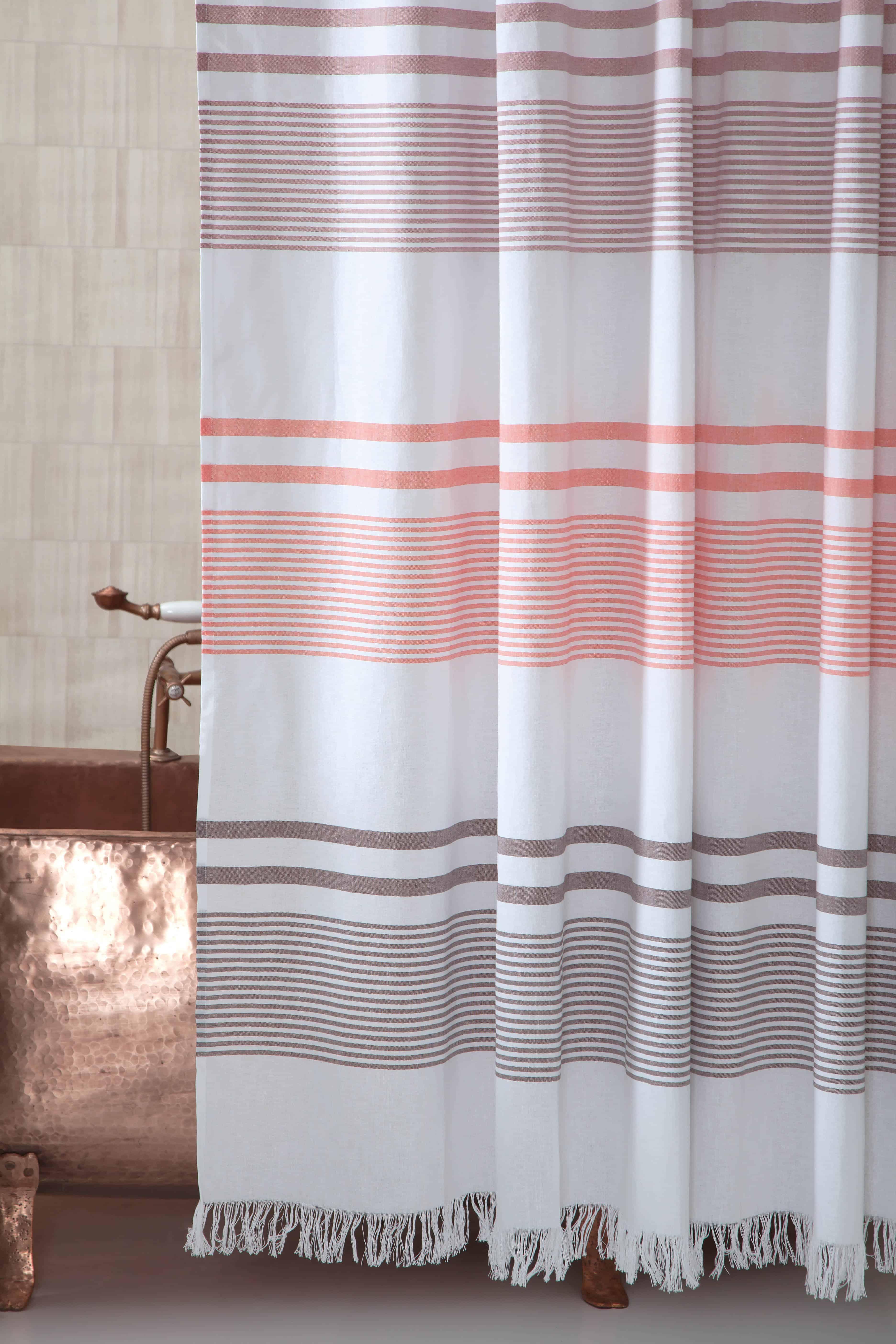 100 Genuine Turkish Cotton Shower Curtain