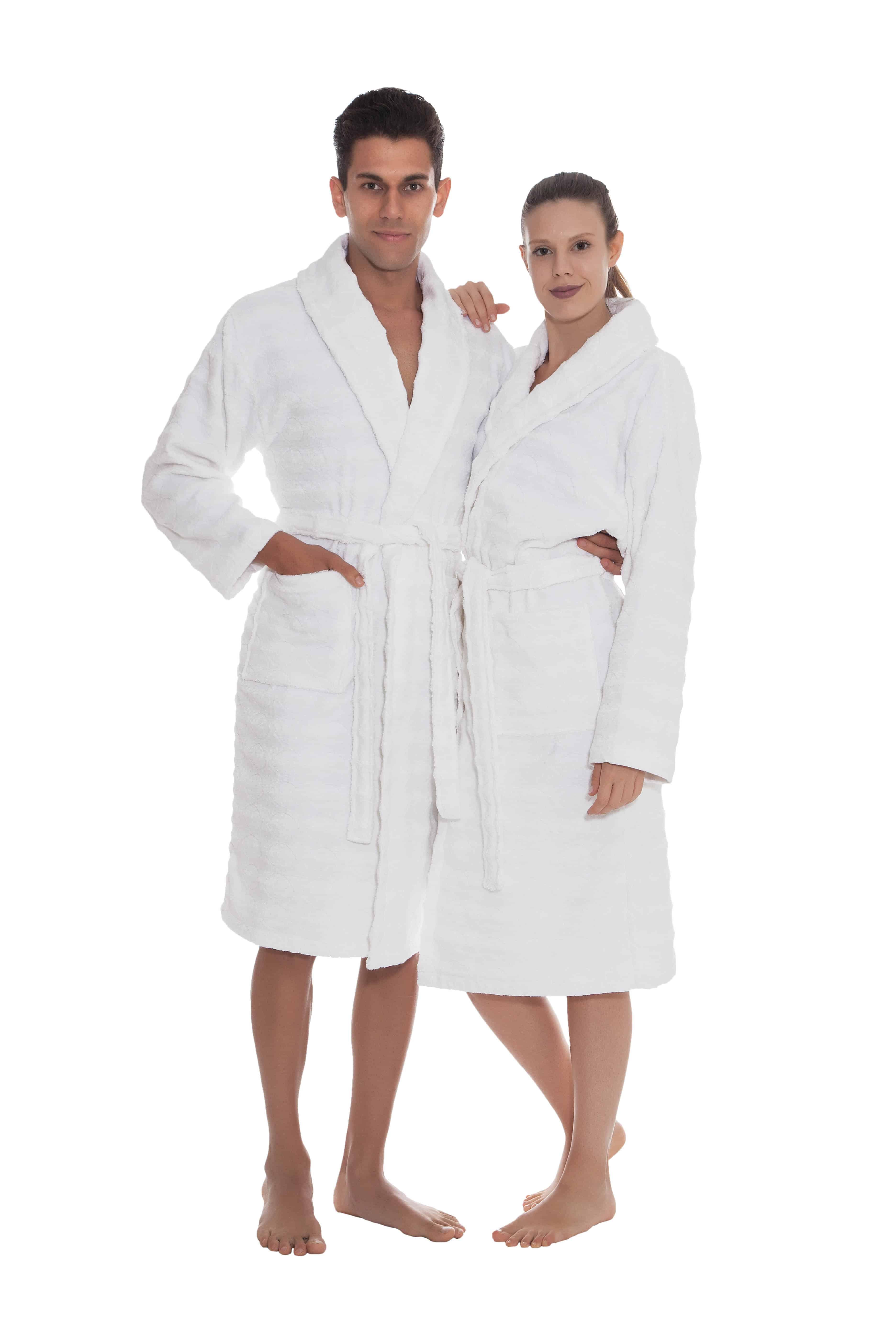 Esperance Bathrobes Collection 100 Turkish Cotton Unisex Terry Cloth Bathrobe Ozan